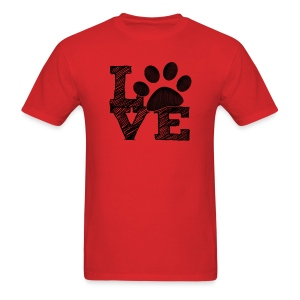 LOVE - Mens T-shirt - Men's T-Shirt