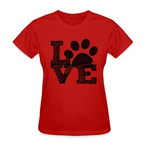 LOVE - Womens T-shirt - Women's T-Shirt