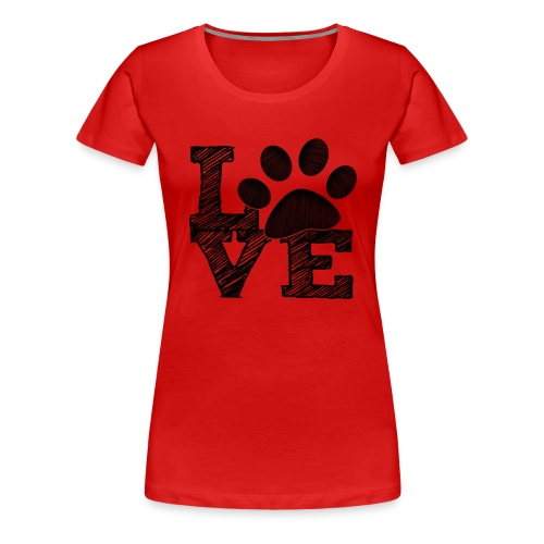 LOVE - Womens Plus Size T-shirt - Women's Premium T-Shirt