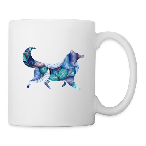 Psychedelic Collie - Mug - Coffee/Tea Mug