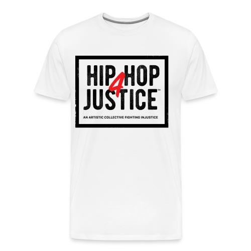 Hip Hop 4 Justice (M-1) - Men's Premium T-Shirt