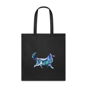 Psychedelic Collie - Tote Bag - Tote Bag