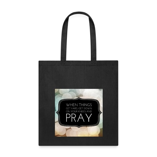 Prayer Quote Tote Bag - Tote Bag