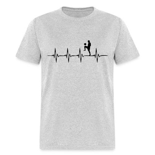 Heartbeat Soccer - Men's T-Shirt