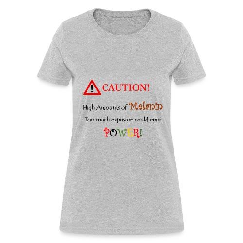 Caution - Women's T-Shirt