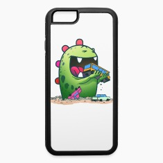 Cute monster iphone case