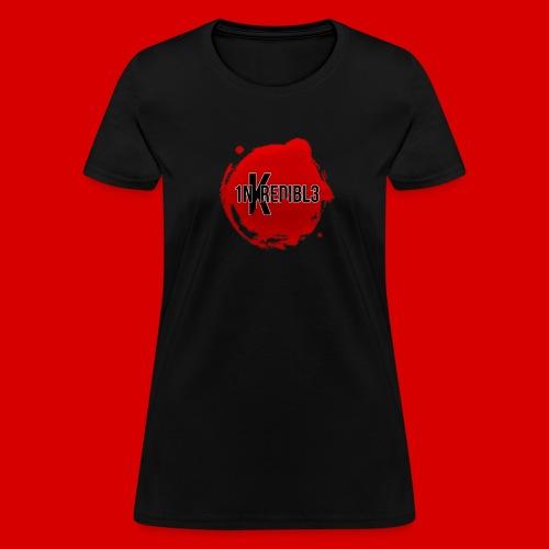 Women's Premium 1NKREDIBL3 Bloodshot Logo Tee - Women's T-Shirt