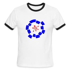 Mod Target 'Roger' T Shirt - Men's Ringer T-Shirt