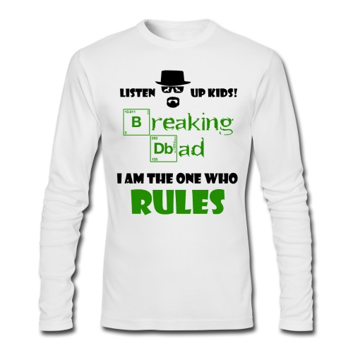 Breaking Dad - Men's Long Sleeve T-Shirt by Next Level
