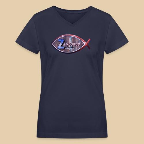 Zevcorod Studio - Women's V-Neck T-Shirt