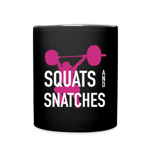 Squats And Snatches WOD - Full Color Mug