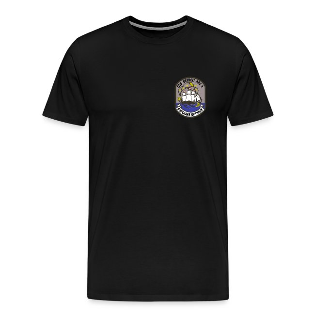 USS DETROIT AOE-4 1980 CRUISE SHIRT WITH TIGER