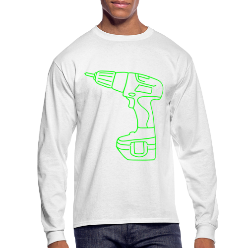 Cordless Screwdrivers - Men's Long Sleeve T-Shirt