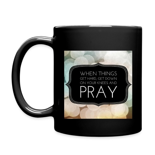 Prayer Quote Mug - Full Color Mug