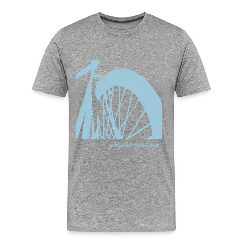 Front Wheel - Men's Premium T-Shirt