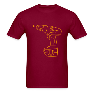 Cordless Screwdrivers - Men's T-Shirt