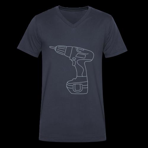 Cordless Screwdrivers - Men's V-Neck T-Shirt by Canvas