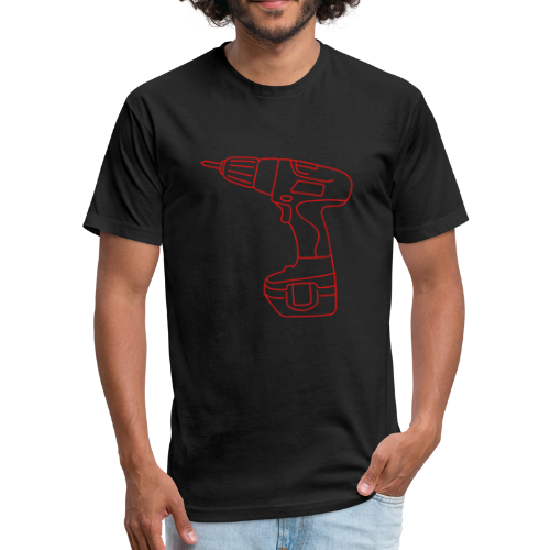 Cordless Screwdrivers - Fitted Cotton/Poly T-Shirt by Next Level
