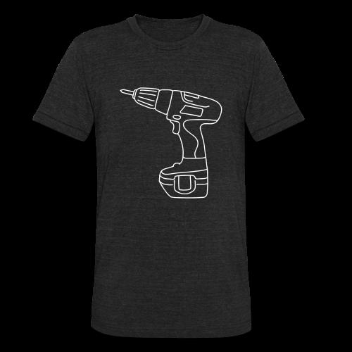 Cordless Screwdrivers - Unisex Tri-Blend T-Shirt