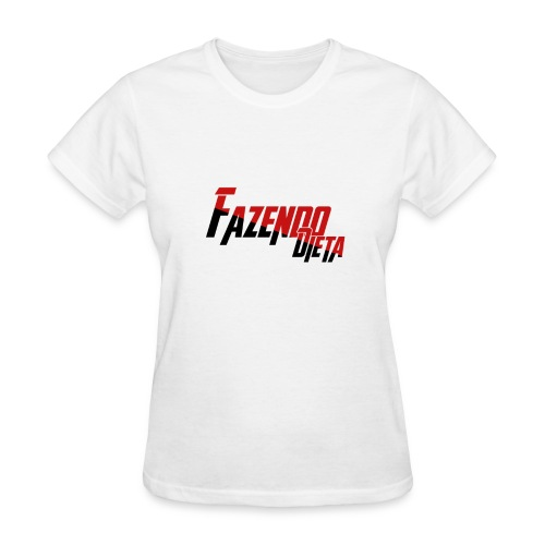T-Shirt - Fazendo Dieta - Mulher - Women's T-Shirt