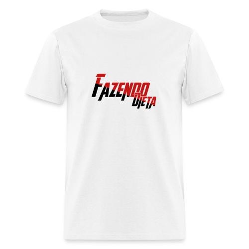 T-Shirt - Fazendo Dieta - Homem - Men's T-Shirt