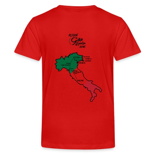 Men's red t-shirt  - Kids' Premium T-Shirt