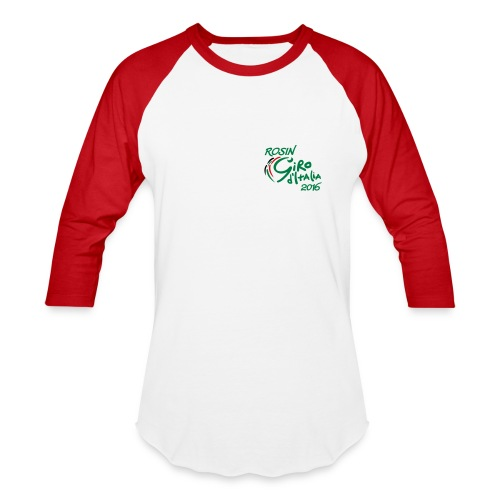 Red & white men's shirt - Baseball T-Shirt