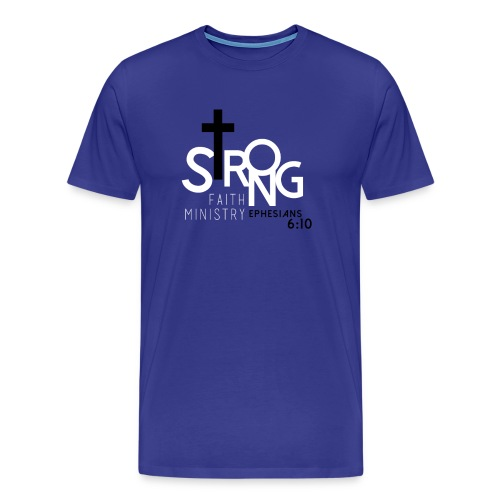 Men's Strong Faith Fraternity Pride T-Shirt - Men's Premium T-Shirt