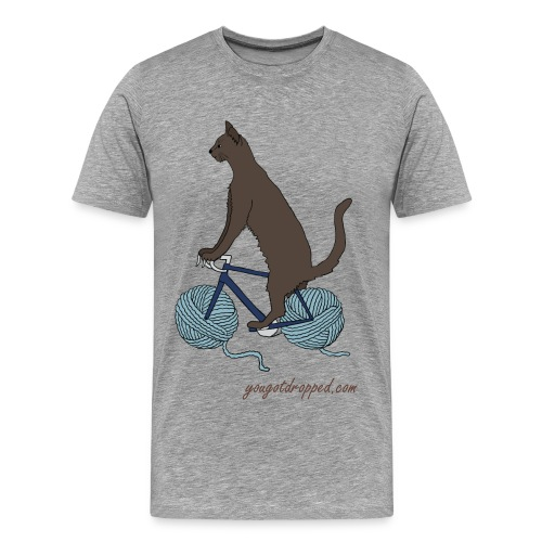 Mr. Yarnwheels - Men's Premium T-Shirt