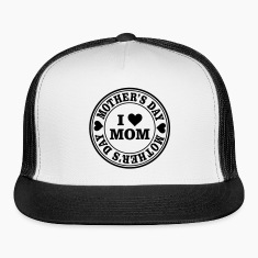 I Love Mom Mother's Day Seal Sportswear