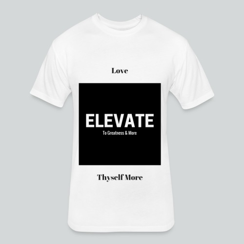 Elevate - Fitted Cotton/Poly T-Shirt by Next Level