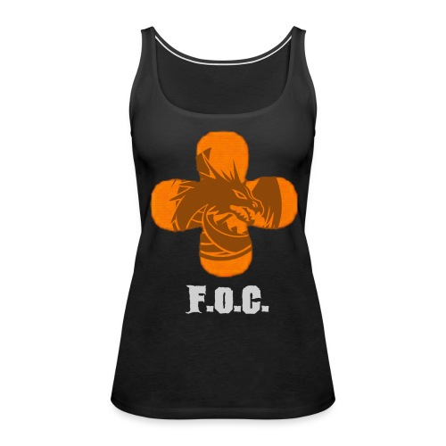 Fucking Orange Clover - Fireside Tank - Women's Premium Tank Top
