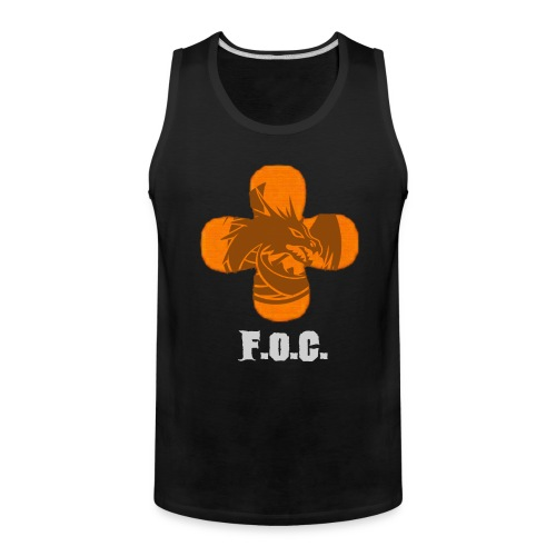 Fucking Orange Clover - Fireside Tank - Men's Premium Tank