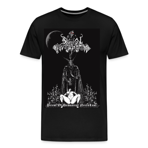 Bestial Invocation - Priest of Demonical NecroLust - Men's Premium T-Shirt