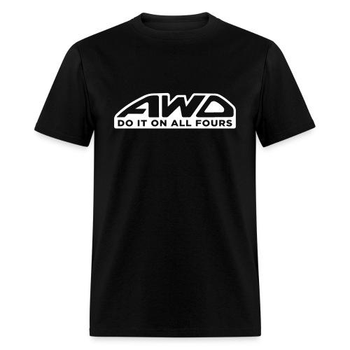 Do It On All Fours - Men's T-Shirt