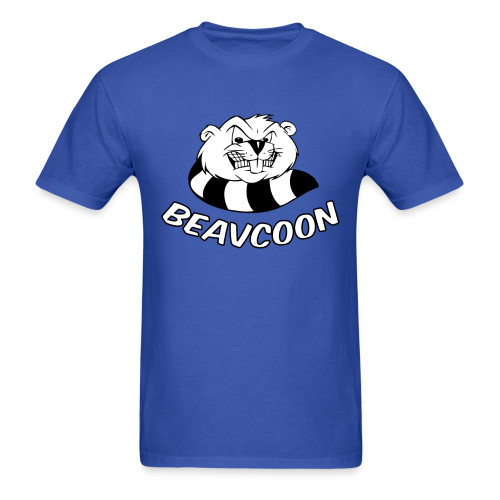 Mens Beavcoon - Men's T-Shirt