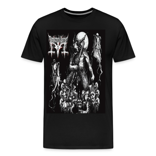 Baphomets Horns - Atomic Warfuck Extermination - Men's Premium T-Shirt