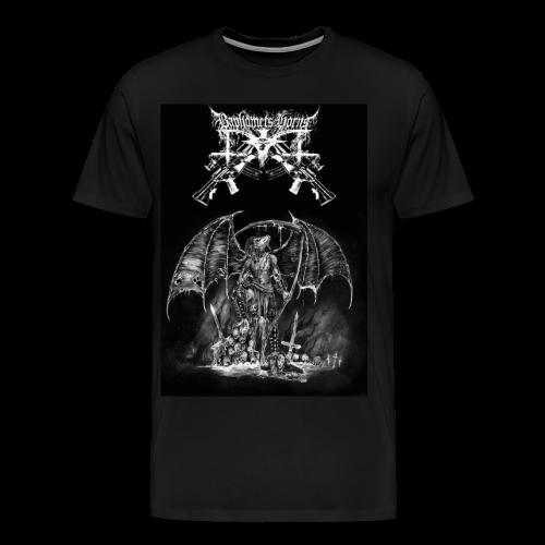 Baphomets Horns - Nuclear Live Desecration  - Men's Premium T-Shirt