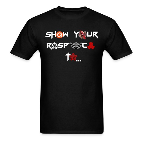 Hardstyle Show Your Respect To... - Men's T-Shirt