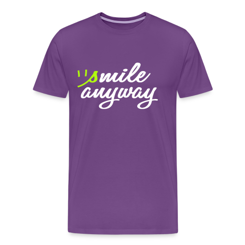 Men's Smile Anyway Tee - Men's Premium T-Shirt