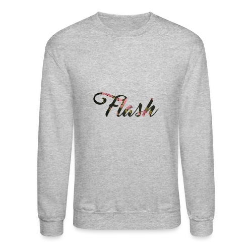 Flash Floral - Crewneck Sweatshirt