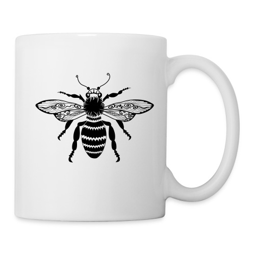 Tribal Queen Bee Coffee Mug from South Seas Tees - Coffee/Tea Mug
