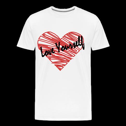 Men's Love Yourself Tee - Men's Premium T-Shirt