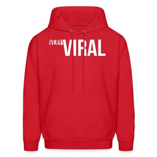 Very Viral Hoodie (Red) - Men's Hoodie