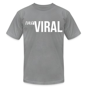 Very Viral Tee (Grey) - Men's Fine Jersey T-Shirt