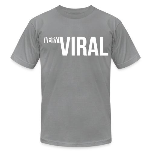 Very Viral Tee (Grey) - Men's Fine Jersey T-Shirt