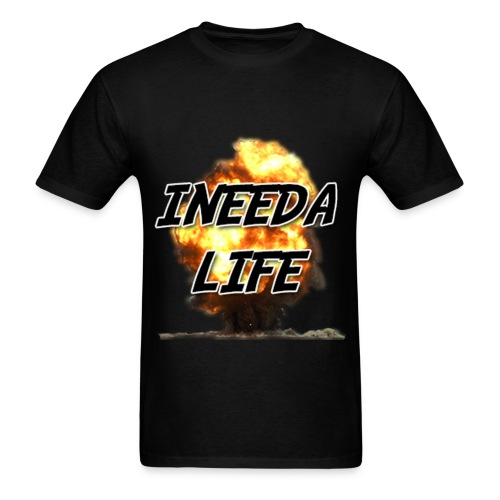INEEDALIFE's Badass Explosions Shirt - Men's T-Shirt