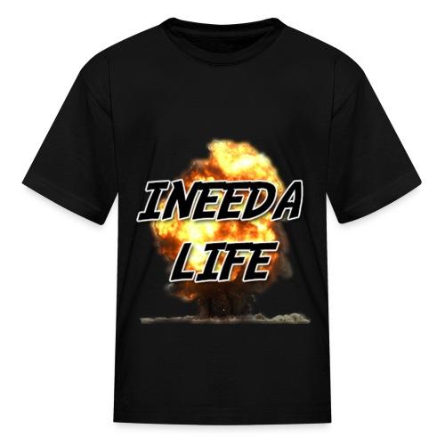(INEEDALIFE) Explosions Kid's Shirt - Kids' T-Shirt