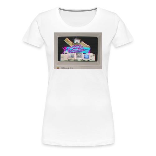women's retro design - Women's Premium T-Shirt