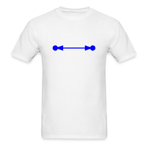 Circular Reference Error in Excel blue - Men's T-Shirt